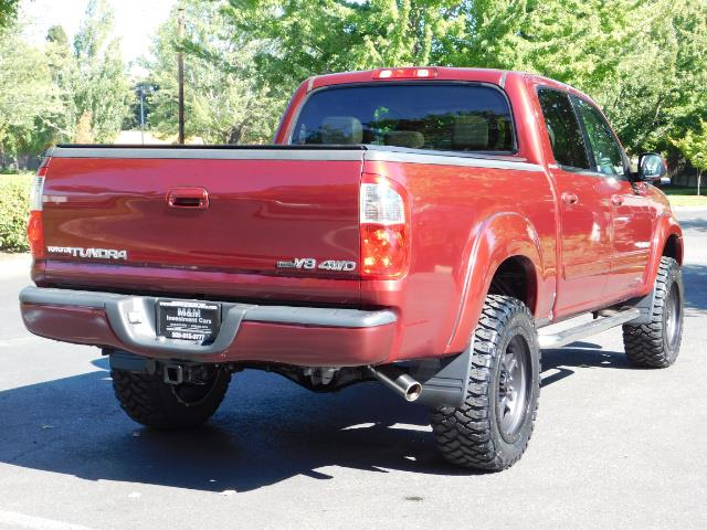 2005 Toyota Tundra DOUBLE CAB 4X4 LIMITED V8 4.7 L / 1-OWNER / LIFTED - Photo 8 - Portland, OR 97217
