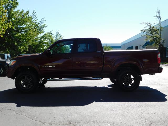2005 Toyota Tundra DOUBLE CAB 4X4 LIMITED V8 4.7 L / 1-OWNER / LIFTED - Photo 3 - Portland, OR 97217