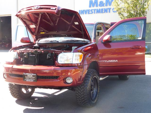 2005 Toyota Tundra DOUBLE CAB 4X4 LIMITED V8 4.7 L / 1-OWNER / LIFTED - Photo 31 - Portland, OR 97217