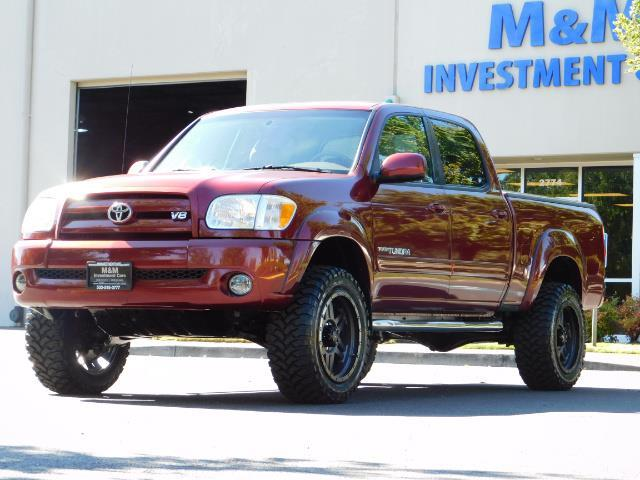2005 Toyota Tundra DOUBLE CAB 4X4 LIMITED V8 4.7 L / 1-OWNER / LIFTED - Photo 1 - Portland, OR 97217
