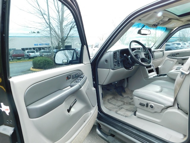 2003 Chevrolet Tahoe LT Z71  / Sport Utility / 4WD / Leather/ Sunroof - Photo 13 - Portland, OR 97217