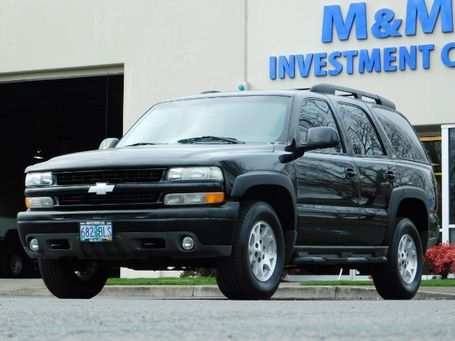 2003 Chevrolet Tahoe LT Z71  / Sport Utility / 4WD / Leather/ Sunroof - Photo 43 - Portland, OR 97217