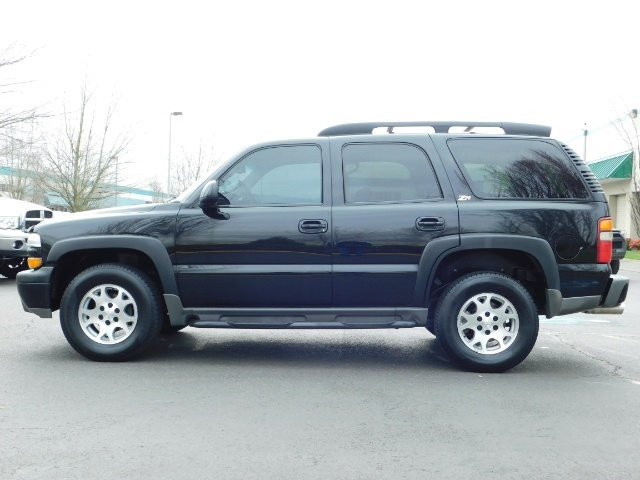 2003 Chevrolet Tahoe LT Z71  / Sport Utility / 4WD / Leather/ Sunroof - Photo 3 - Portland, OR 97217