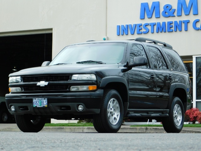 2003 Chevrolet Tahoe LT Z71  / Sport Utility / 4WD / Leather/ Sunroof - Photo 45 - Portland, OR 97217