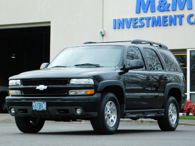 2003 Chevrolet Tahoe LT Z71  / Sport Utility / 4WD / Leather/ Sunroof - Photo 47 - Portland, OR 97217