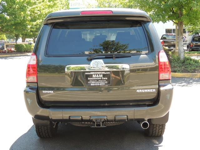 2006 Toyota 4Runner V6 4.0L / 4X4 / DIFF LOCK / 3RD SEATS / 1-OWNER - Photo 6 - Portland, OR 97217