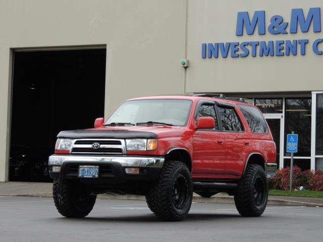 1999 Toyota 4runner Sr5 4x4 V6 3 4l 5 Speed Manual