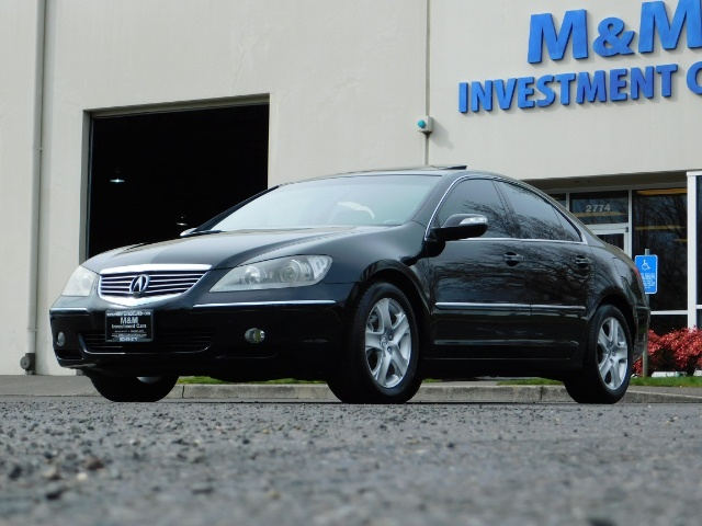 2008 Acura RL SH-AWD w/CMBS w/Pax Tires / Leather / Htd Seats - Photo 49 - Portland, OR 97217
