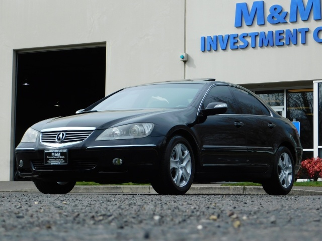 2008 Acura RL SH-AWD w/CMBS w/Pax Tires / Leather / Htd Seats - Photo 51 - Portland, OR 97217