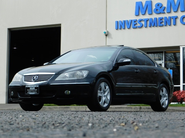 2008 Acura RL SH-AWD w/CMBS w/Pax Tires / Leather / Htd Seats - Photo 50 - Portland, OR 97217