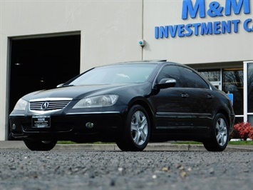 2008 Acura RL SH-AWD w/CMBS w/Pax Tires / Leather / Htd Seats
