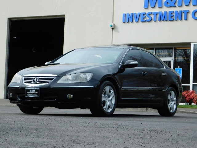 2008 Acura RL SH-AWD w/CMBS w/Pax Tires / Leather / Htd Seats - Photo 41 - Portland, OR 97217