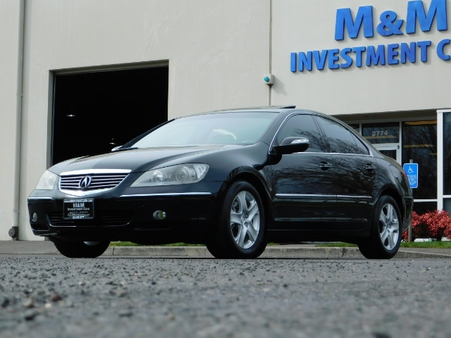 2008 Acura RL SH-AWD w/CMBS w/Pax Tires / Leather / Htd Seats - Photo 52 - Portland, OR 97217