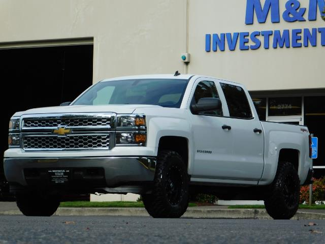 2014 Chevy Silverado Lifted >> 2014 Chevrolet Silverado 1500 Lt Crew Cab 4x4 Lifted