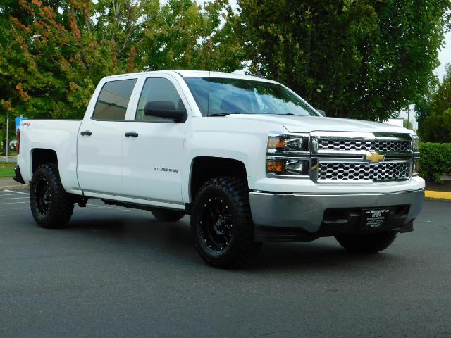2014 Chevy Silverado Lifted >> 2014 Chevrolet Silverado 1500 Lt Crew Cab 4x4 Lifted New