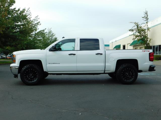 2014 Chevrolet Silverado 1500 LT / Crew Cab / 4X4 / LIFTED / NEW WHEELS & TIRES - Photo 3 - Portland, OR 97217