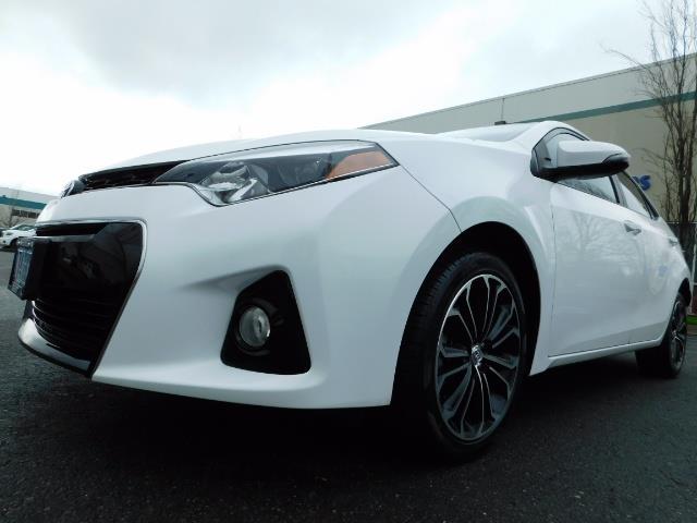 2015 Toyota Corolla S Plus SPORT SEDAN / 6-Speed CVT / FULLY LOADED - Photo 9 - Portland, OR 97217