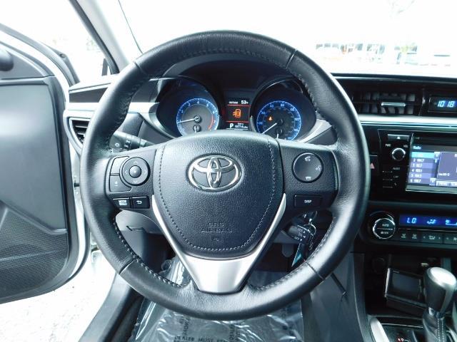 2015 Toyota Corolla S Plus SPORT SEDAN / 6-Speed CVT / FULLY LOADED - Photo 37 - Portland, OR 97217