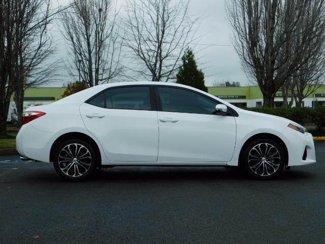 2015 Toyota Corolla S Plus SPORT SEDAN / 6-Speed CVT / FULLY LOADED - Photo 4 - Portland, OR 97217