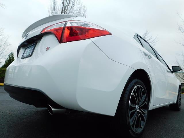 2015 Toyota Corolla S Plus SPORT SEDAN / 6-Speed CVT / FULLY LOADED - Photo 12 - Portland, OR 97217