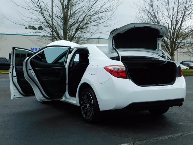 2015 Toyota Corolla S Plus SPORT SEDAN / 6-Speed CVT / FULLY LOADED - Photo 26 - Portland, OR 97217