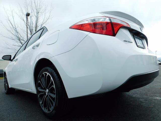 2015 Toyota Corolla S Plus SPORT SEDAN / 6-Speed CVT / FULLY LOADED - Photo 11 - Portland, OR 97217