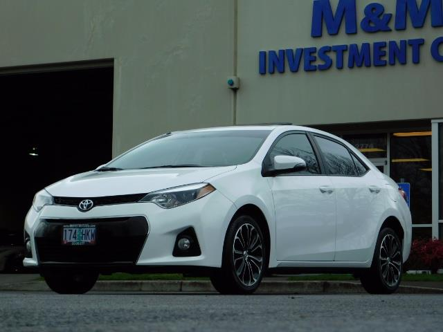 2015 Toyota Corolla S Plus SPORT SEDAN / 6-Speed CVT / FULLY LOADED - Photo 44 - Portland, OR 97217