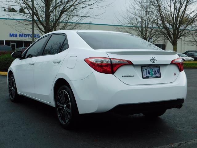 2015 Toyota Corolla S Plus SPORT SEDAN / 6-Speed CVT / FULLY LOADED - Photo 7 - Portland, OR 97217