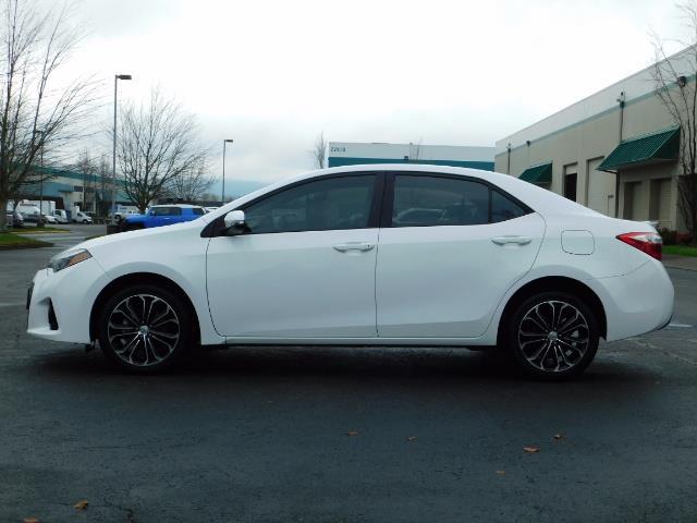 2015 Toyota Corolla S Plus SPORT SEDAN / 6-Speed CVT / FULLY LOADED - Photo 3 - Portland, OR 97217