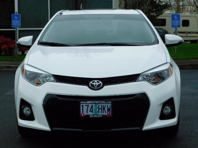 2015 Toyota Corolla S Plus SPORT SEDAN / 6-Speed CVT / FULLY LOADED - Photo 5 - Portland, OR 97217