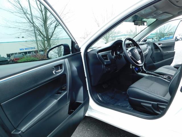 2015 Toyota Corolla S Plus SPORT SEDAN / 6-Speed CVT / FULLY LOADED - Photo 13 - Portland, OR 97217