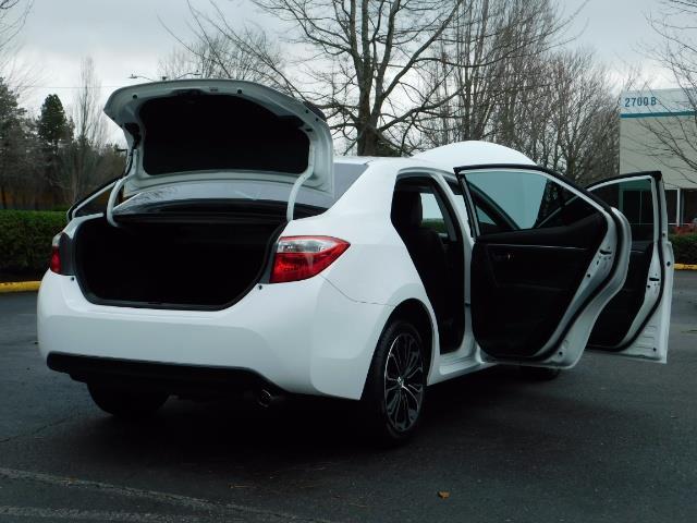2015 Toyota Corolla S Plus SPORT SEDAN / 6-Speed CVT / FULLY LOADED - Photo 29 - Portland, OR 97217
