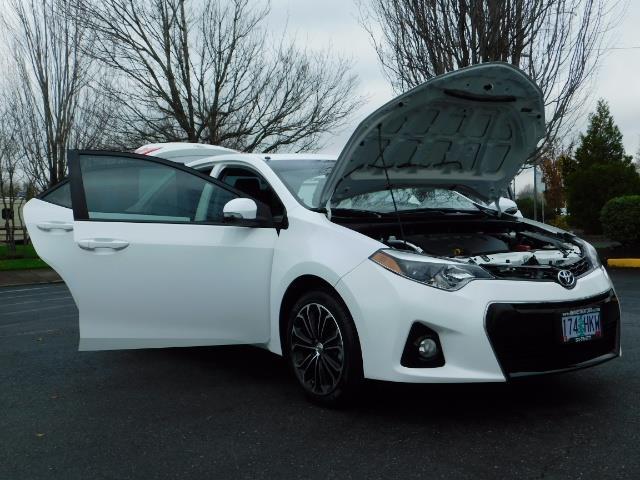 2015 Toyota Corolla S Plus SPORT SEDAN / 6-Speed CVT / FULLY LOADED - Photo 30 - Portland, OR 97217