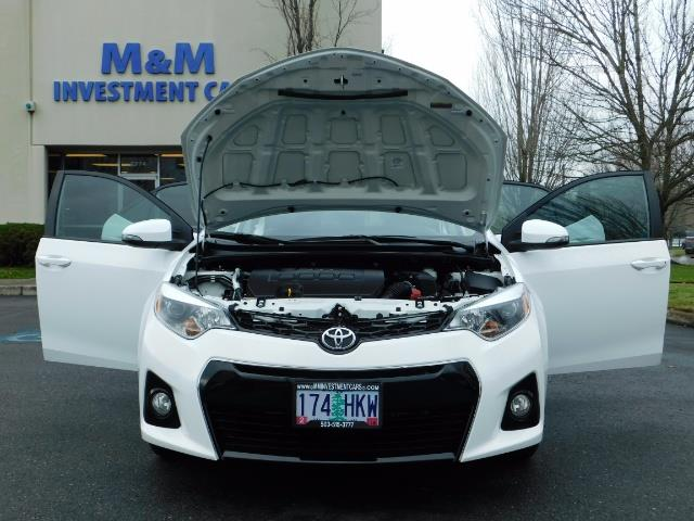 2015 Toyota Corolla S Plus SPORT SEDAN / 6-Speed CVT / FULLY LOADED - Photo 31 - Portland, OR 97217