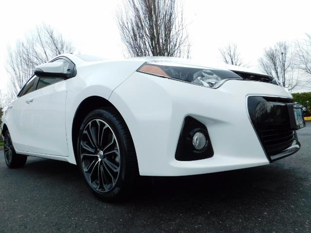 2015 Toyota Corolla S Plus SPORT SEDAN / 6-Speed CVT / FULLY LOADED - Photo 10 - Portland, OR 97217
