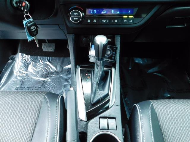 2015 Toyota Corolla S Plus SPORT SEDAN / 6-Speed CVT / FULLY LOADED - Photo 20 - Portland, OR 97217