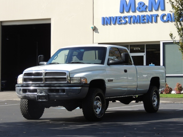 1997 dodge ram 2500 laramie slt 4x4 12 valve 5 9l cummins diesel. Black Bedroom Furniture Sets. Home Design Ideas
