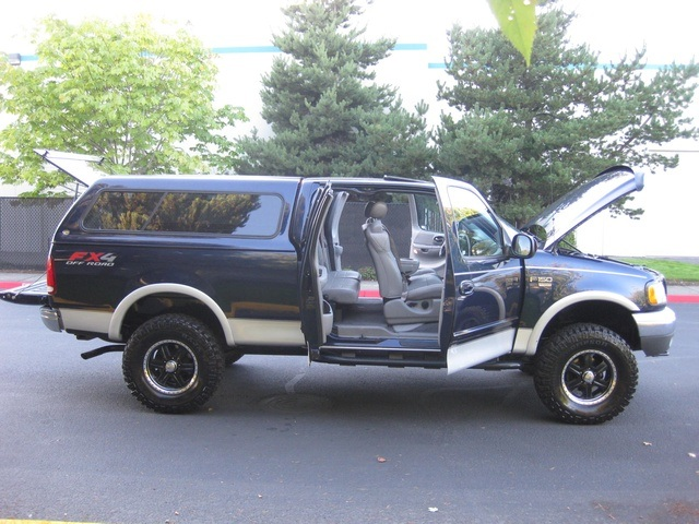2002 Ford F 150 Lariat Fx4 Long Bed Lifted