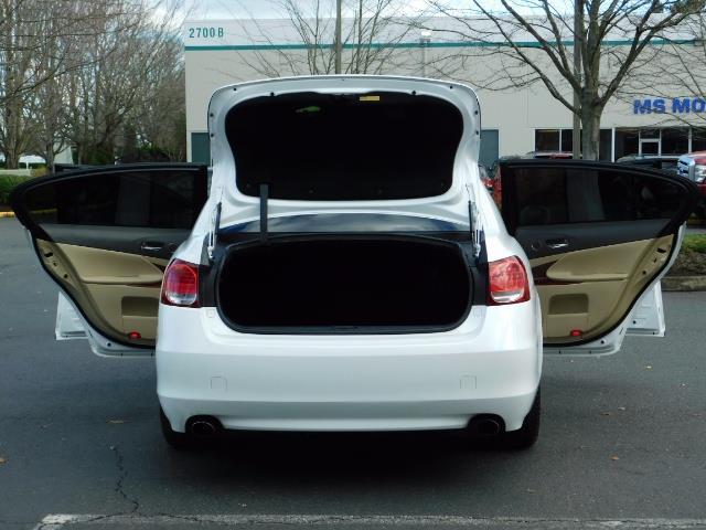 2009 Lexus GS 350 AWD / NAVi CAM / HEATED + COOLED LEATHER SEATS - Photo 26 - Portland, OR 97217