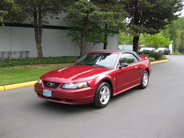 2003 Ford Mustang Deluxe Convertible Top V6 Automatic Photo 1 Portland