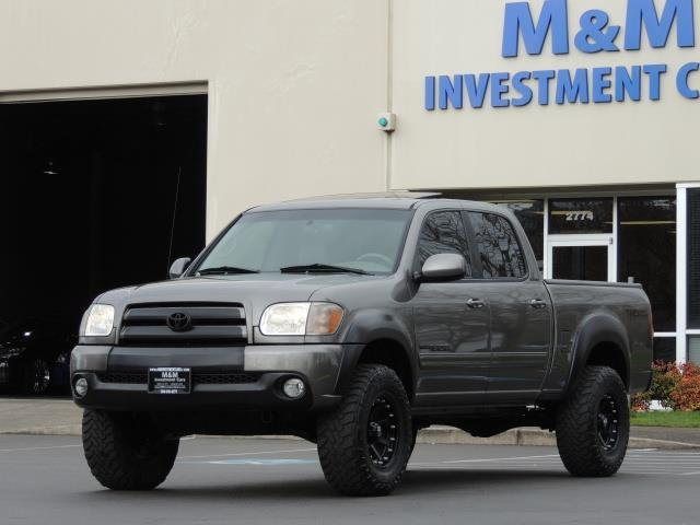 2005 Toyota Tundra Double Cab Limited 4x4 Trd Off Road Lifted
