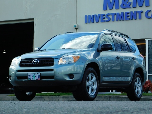 2007 Toyota RAV4 4dr SUV 4Cyl AWD Gas Saver 25MPG 25Service Records - Photo 1 - Portland, OR 97217