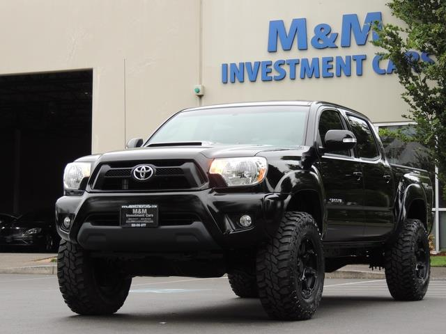 Lifted Toyota Tacoma >> 2014 Toyota Tacoma V6 / 4X4 / TRD SPORT OFF ROAD / 1-OWNER ...