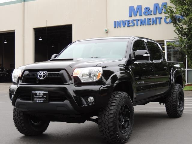 2014 Toyota Tacoma V6 / 4X4 / TRD SPORT OFF ROAD / 1-OWNER / LIFTED