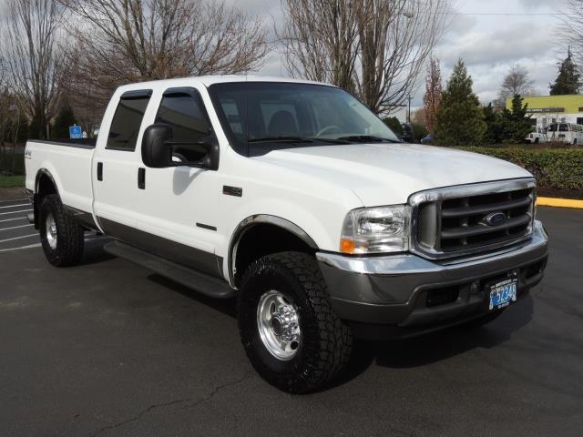 2001 ford f 350 super duty lariat 4x4 crew cab 7 3 diesel 6 speed. Black Bedroom Furniture Sets. Home Design Ideas