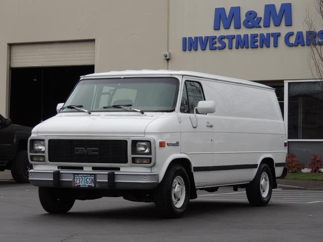 1993 gmc vandura g25 2500 cargo van. Black Bedroom Furniture Sets. Home Design Ideas