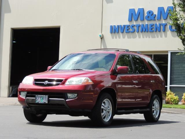 2002 Acura MDX Touring/ AWD / 3RD Row Seats / Leather / Moon Roof - Photo 1 - Portland, OR 97217