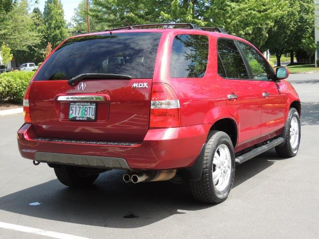 2002 Acura MDX Touring/ AWD / 3RD Row Seats / Leather / Moon Roof - Photo 6 - Portland, OR 97217