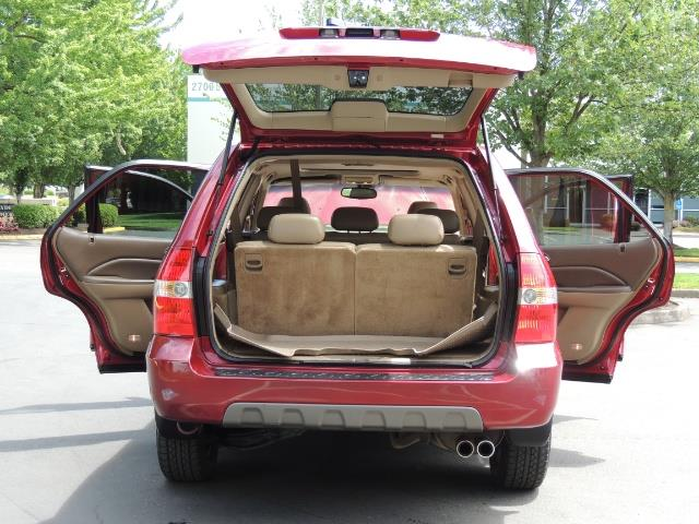 2002 Acura MDX Touring/ AWD / 3RD Row Seats / Leather / Moon Roof - Photo 34 - Portland, OR 97217