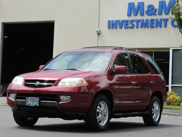 2002 Acura MDX Touring/ AWD / 3RD Row Seats / Leather / Moon Roof - Photo 41 - Portland, OR 97217